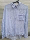 70.Camisa rayas azul