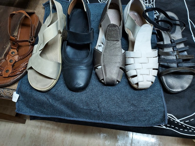 Regalo calzado de verano mujer n°37 a recoger el Leganés