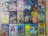 Más cintas de video VHS infantiles