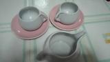juego de cafe gris y rosa(nocris)