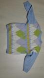 Jersey azul con rombos. Talla XL