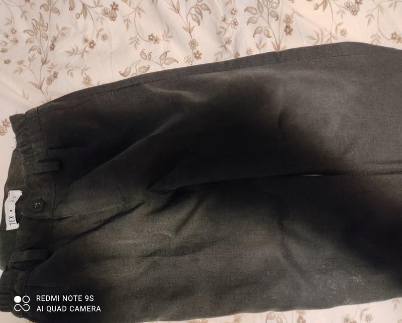 Pantalón colegial gris talla 2-3