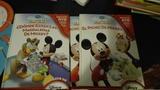 Tres libros de micky mouse