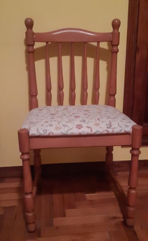Regalo silla de madera