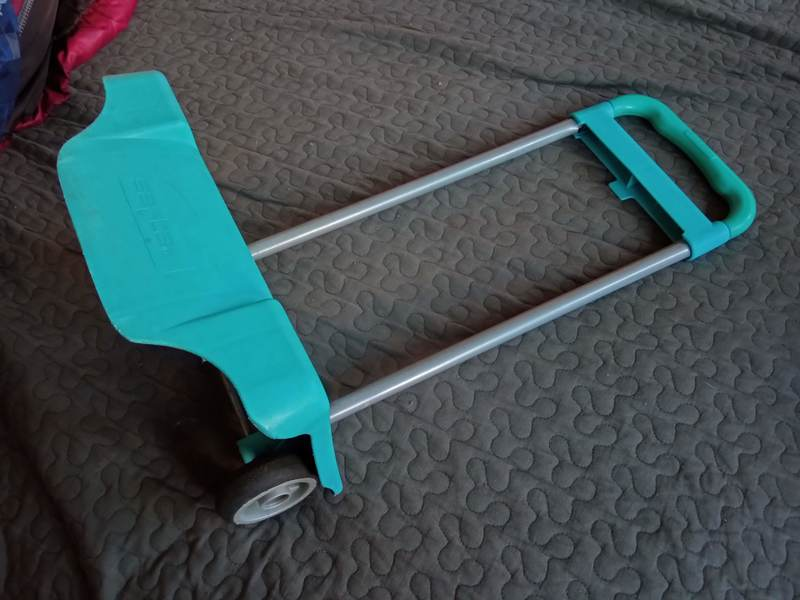 Trolley azul Safta
