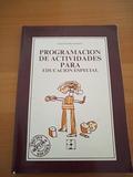 Regalo libro programación actividades educación especial