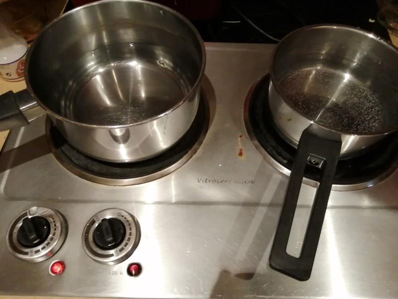 Placa de cocina eléctrica.