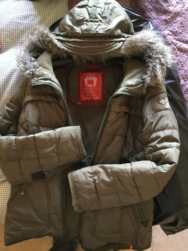 Chaqueta abrigo con capucha