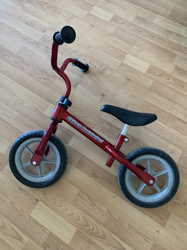Regalo bicicleta sin pedales, para niño/a.