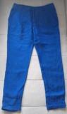 Pantalón Azul Mujer - Talla 38 (Zara Basic)
