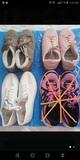 Tres bolsas de ropa y calzado