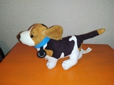 Peluche perro rastreator pequeño