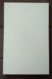 2 baldas de madera blanca 295x465x15mm