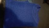Jersey azul manga corta. Talla XL