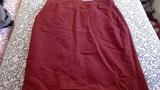 Falda roja talla 60