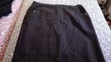 Falda negra con puntitos Talla 60