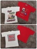 2 camisetas 2 años