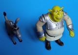 Muñecos de Shrek y Burro