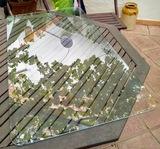 Regalo cristal para mesa rectangular