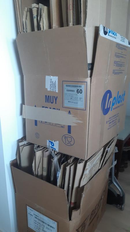 Cajas para traslado o mudanza