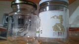 Frascos de cristal de 1 kg