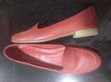 Zapatos rojos piel