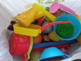 Lote de cacharritos de cocina de juguete
