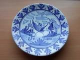 Plato decorativo cerámica