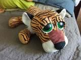 Peluche tigre triste