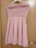 Vestido rosa talla pequeña